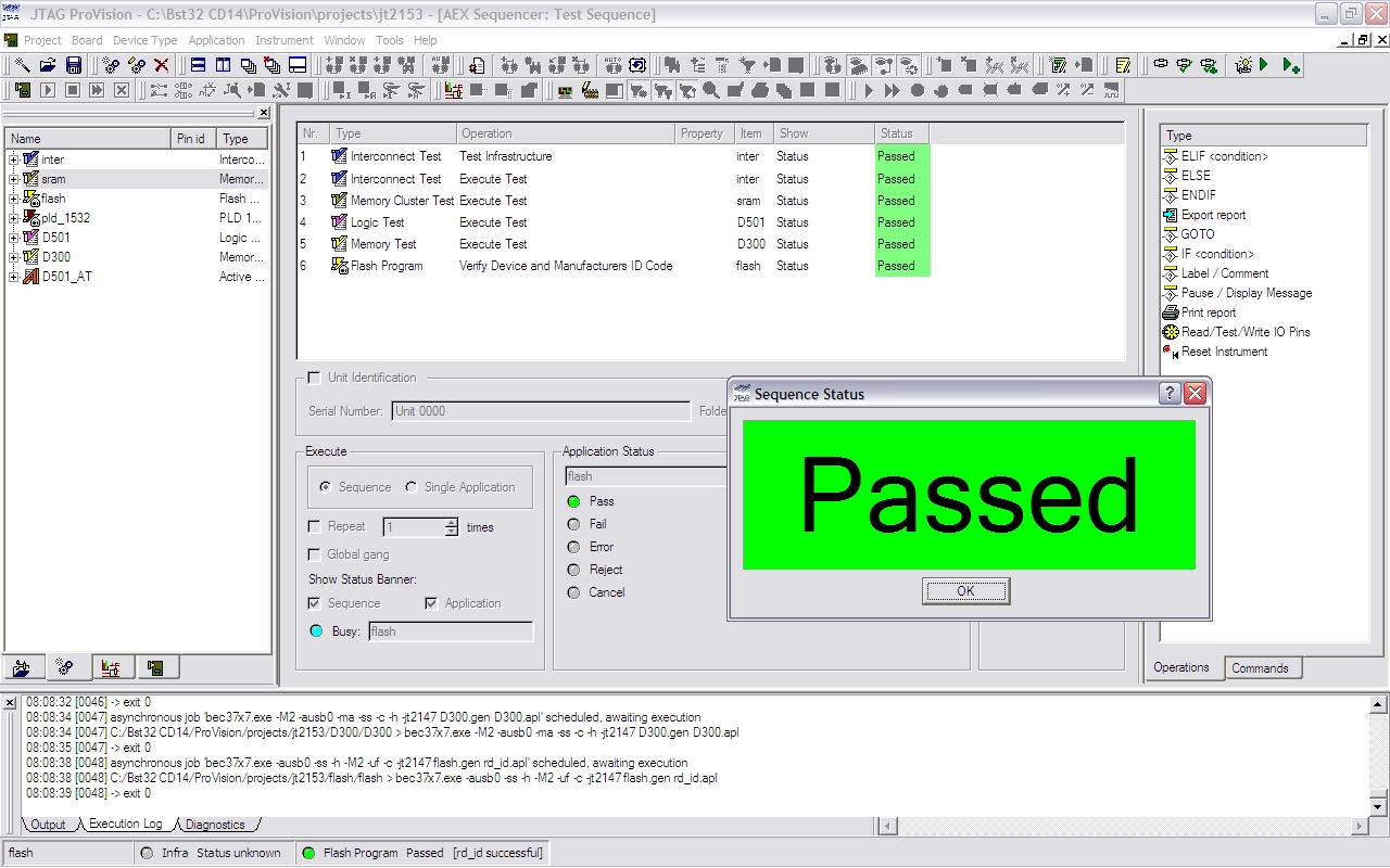 Software Products – JTAG
